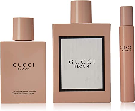 Gucci bloom edp 100ml + body 100ml + mini 7,5ml.: Amazon.es: Belleza