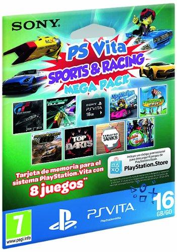 Sony - Tarjeta Memoria 16 GB + Megapack Sports&Racing (PS ...