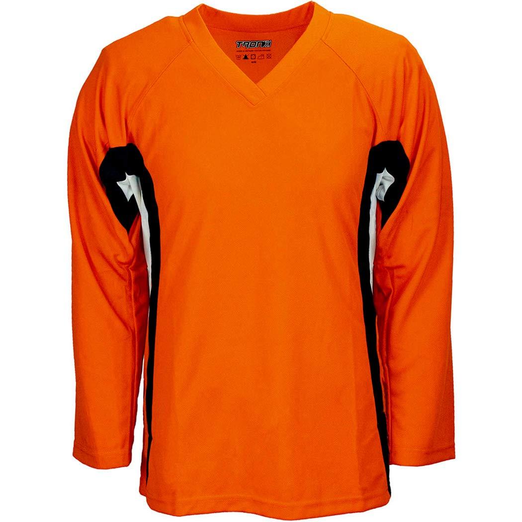 TronX DJ200 Team Hockey Practice Jersey Orange
