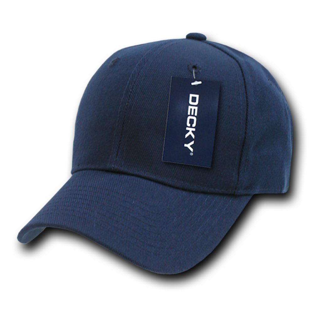 DECKY Fitted Cap, Navy, 6 3/4 by DECKY