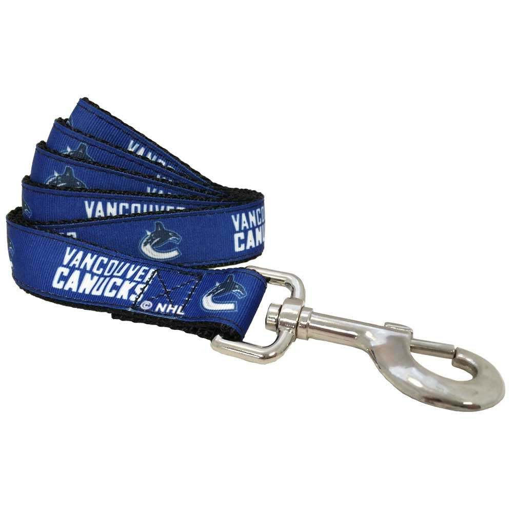 All Star Dogs Vancouver Canucks Leash, Small (4-Inch)