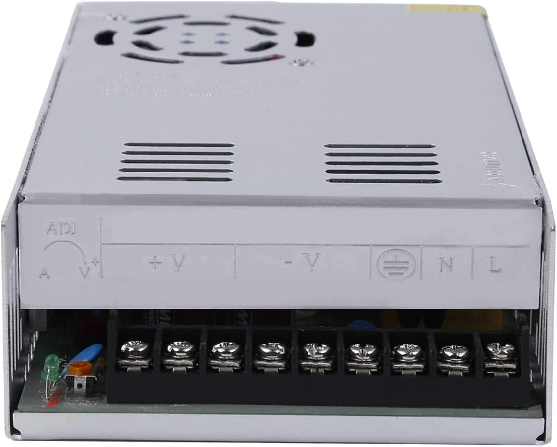Detectorcatty DC 48V 10A Universal Regulated Switching Power Supply for Computer Project with Good Quality /& High Performance