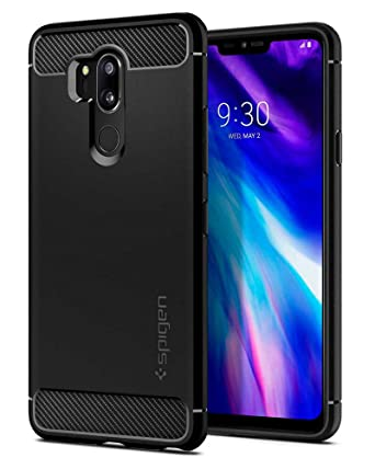 Spigen Rugged Armor Designed for LG G7 ThinQ Case (2018) - Black