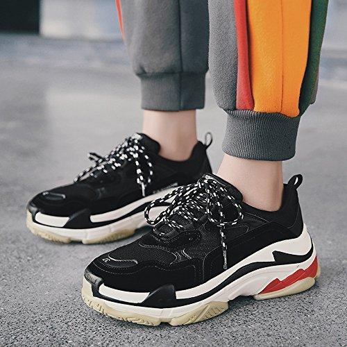 Men's Shoes Feifei Leisure Fashion Lovers Tide Shoes 4 Colors (Size Multiple Choice) (Color : 01, Size : EU43/UK9/CN44)