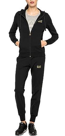 Emporio Armani Damen Trainingsanzug schwarz schwarz XL  Amazon.de ... bcfd276913