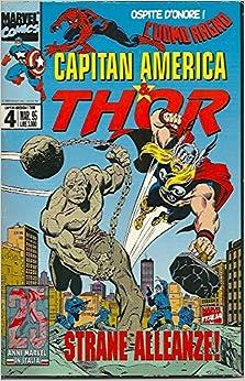 Capitan America & Thor. N. 13. Dic. 1995