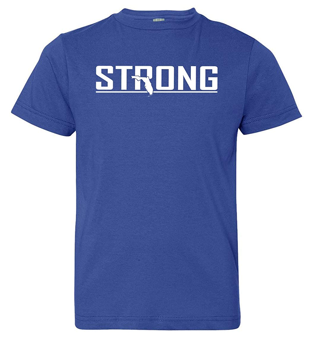 Royal Blue X-Large Tenacitee Boys Youth Strong T-Shirt