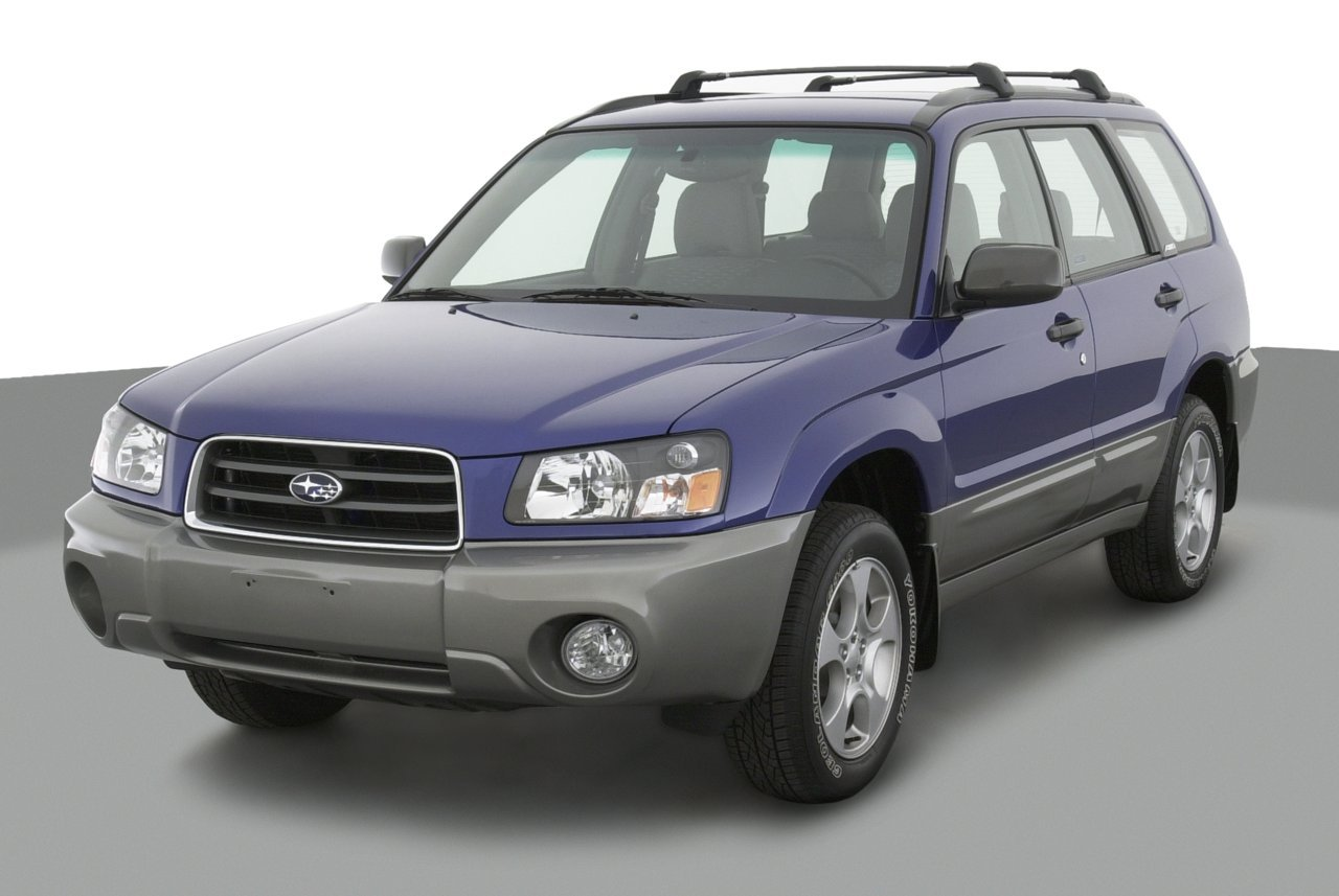 2003 subaru forester x 4 door 2 5 automatic transmission