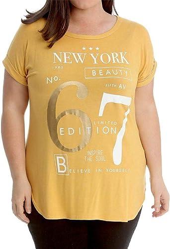 fashioncrazexx New York 67 - Camiseta de Manga Corta para ...