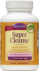 Super Cleanse by Nature's Secret | Herbal and Probiotic Support, 100 Tablets