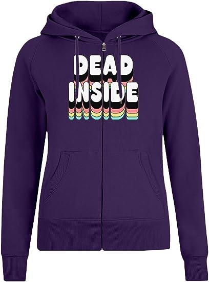 Innerlich tot - Dead Inside Zipper Hoodie Jumper Pullover