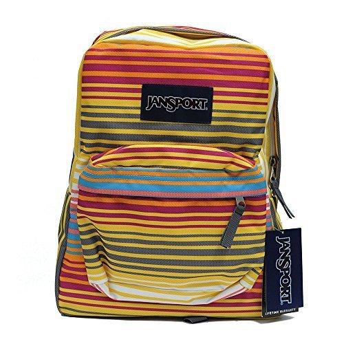 Classic Jansport Superbreak Backpack (Multi Sunset Stripe (T5010E9)) 508e5088c263a