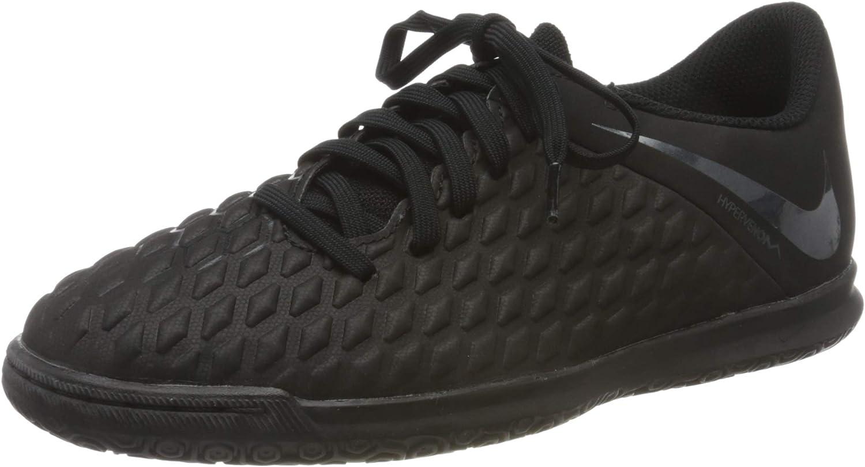 Club Indoor Soccer Shoes (2.5, Black
