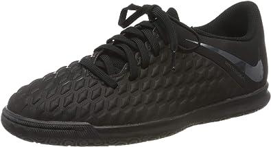 Nike Kids Hypervenom Phantom 3 Club Indoor Soccer Shoes 2, Black//Black