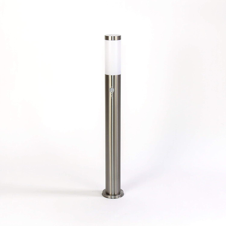 Grande lampe de jardin gris anthracite IP44 /Ø8cm /Ø8cm E27 H:110cm lampe dext/érieur pour jardin de jardin