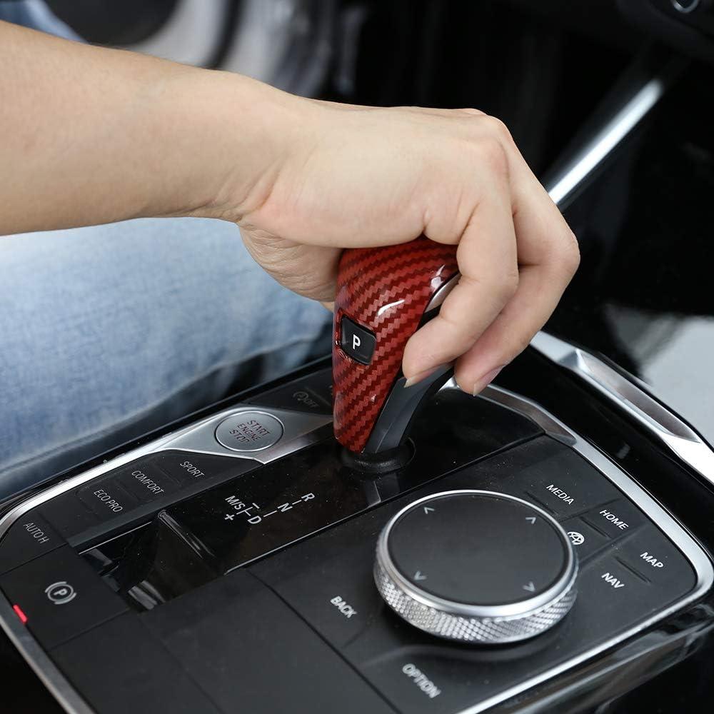 Yctze Car Gear Shift Trim 2 St/ück Carbon Mittelkonsole Gear Shift Trim Strip Fit f/ür C-Klasse W204 05-12