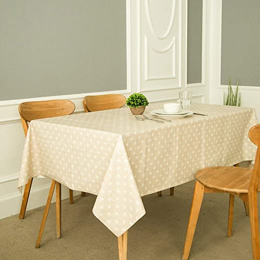 FANCY-FIX Mantel Antimancha Material PVC Hule para Mesa ...