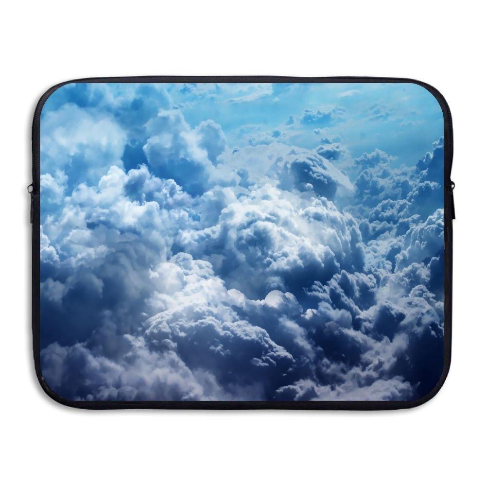 Ministoeb Clouds Pattern Art Love Laptop Storage Bag - Portable Waterproof Laptop Case Briefcase Sleeve Bags Cover