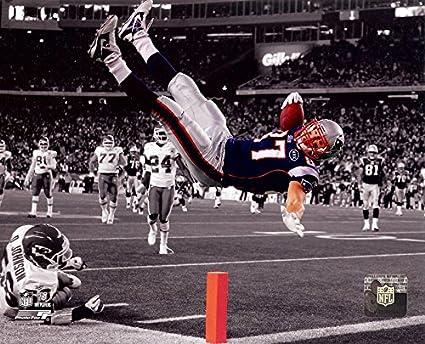 New England Patriots Rob Gronkowski 8x10 Action Photo. Spotlite Picture. 55262f2ad