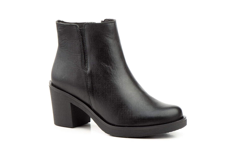 Schuhe-estil, Damen Stiefel & Stiefeletten Schwarz Schwarz Schwarz Schwarz 707644
