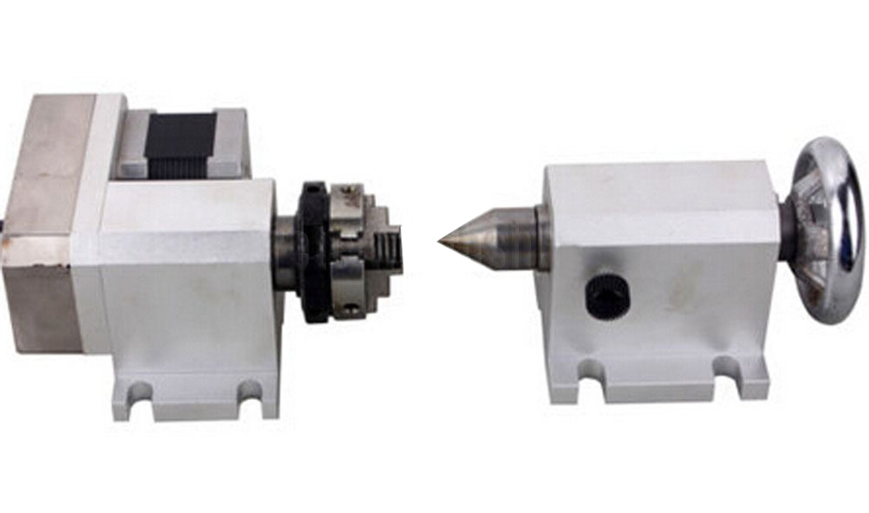 SUNWIN CNC Engraving Machine Router Rotational Rotary Axis F A-Axis, 4th-Axis+TailStock