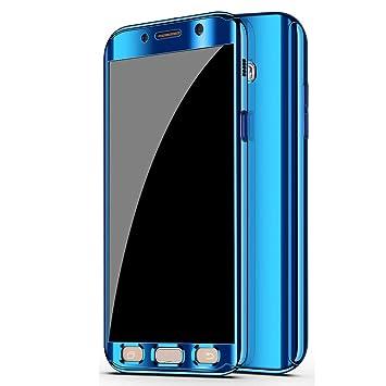 CXvwons - Carcasa Samsung Galaxy A5 2017 Azul: Amazon.es ...