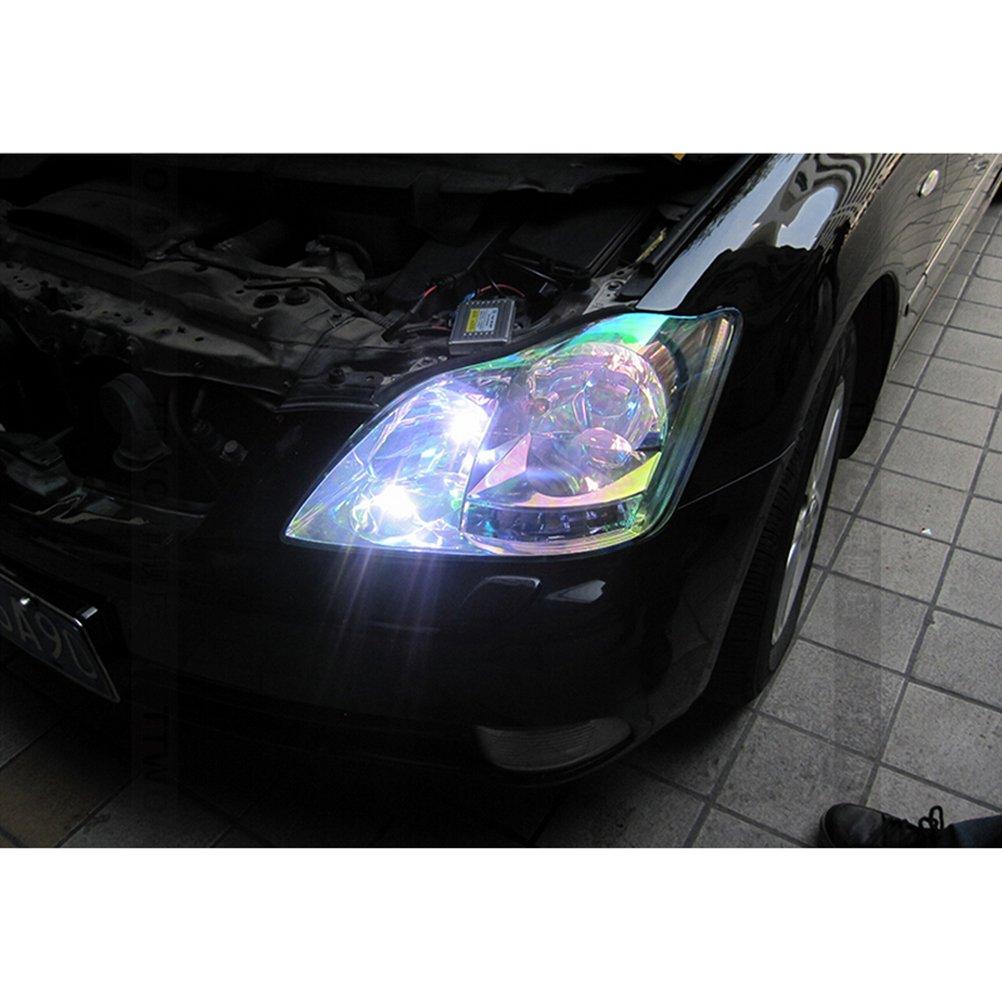 Winomo Self-Adhesive Car Headlights Tint Taillights Fog Light Vinyl Film 30* 500cm Automotive Transparent