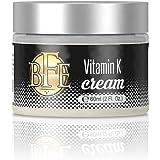 Vitamin K Cream- Moisturizing Bruise Healing Formula. Dark Spot Corrector for Bruising, Spider Veins & Broken Capillaries. Reduces Under Eye Dark Circles, Fine Lines, Puffiness, Wrinkles.