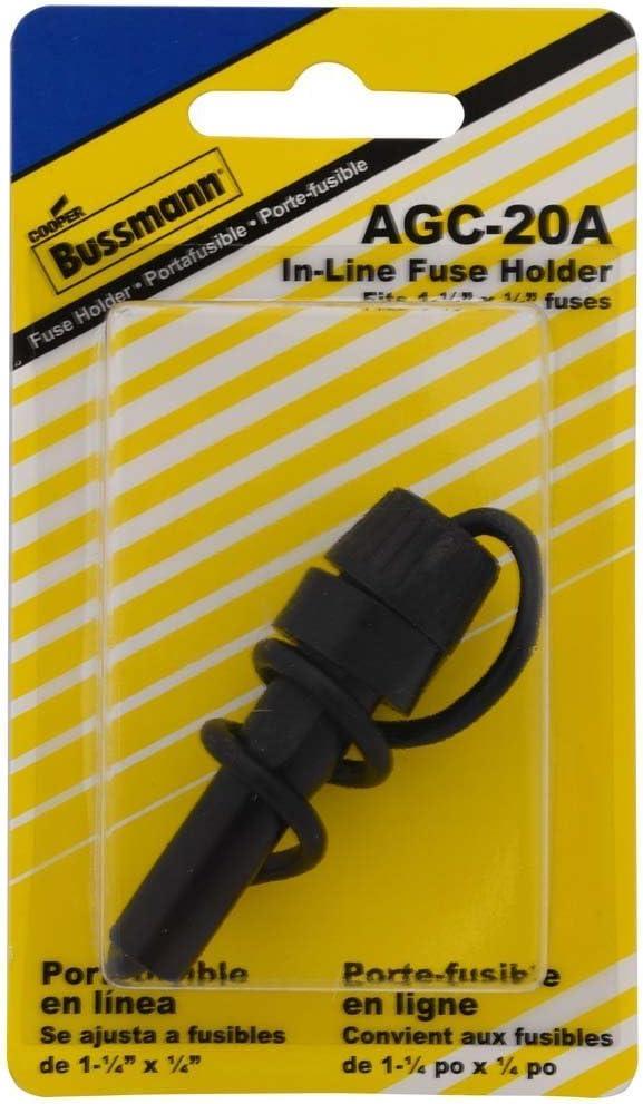 Bussmann BP//HMJ AGC Glass Tube Fuse Holder
