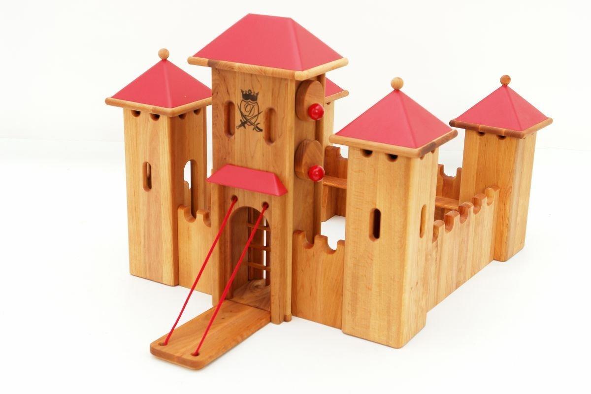 Ritterburg Holz Bestseller - die mittelgroße Drewart Holzritterburg