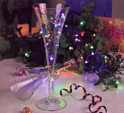 Gerson Everlasting Glow Multi Color Twinkling LED Christmas Light String Set 30 Lights