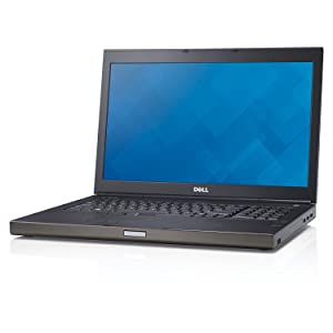 "Dell Precision M6800 17.3"" Notebook PC - Intel Core i7-4800MQ 2.7GHz 8GB 500GB DVDRW Windows 10 Professional (Certified Refurbished)"