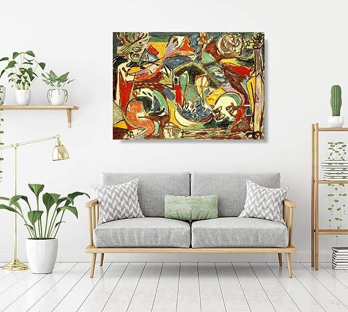 JH Lacrocon La Clave De 1946 de Jackson Pollock - 120X80 cm ...