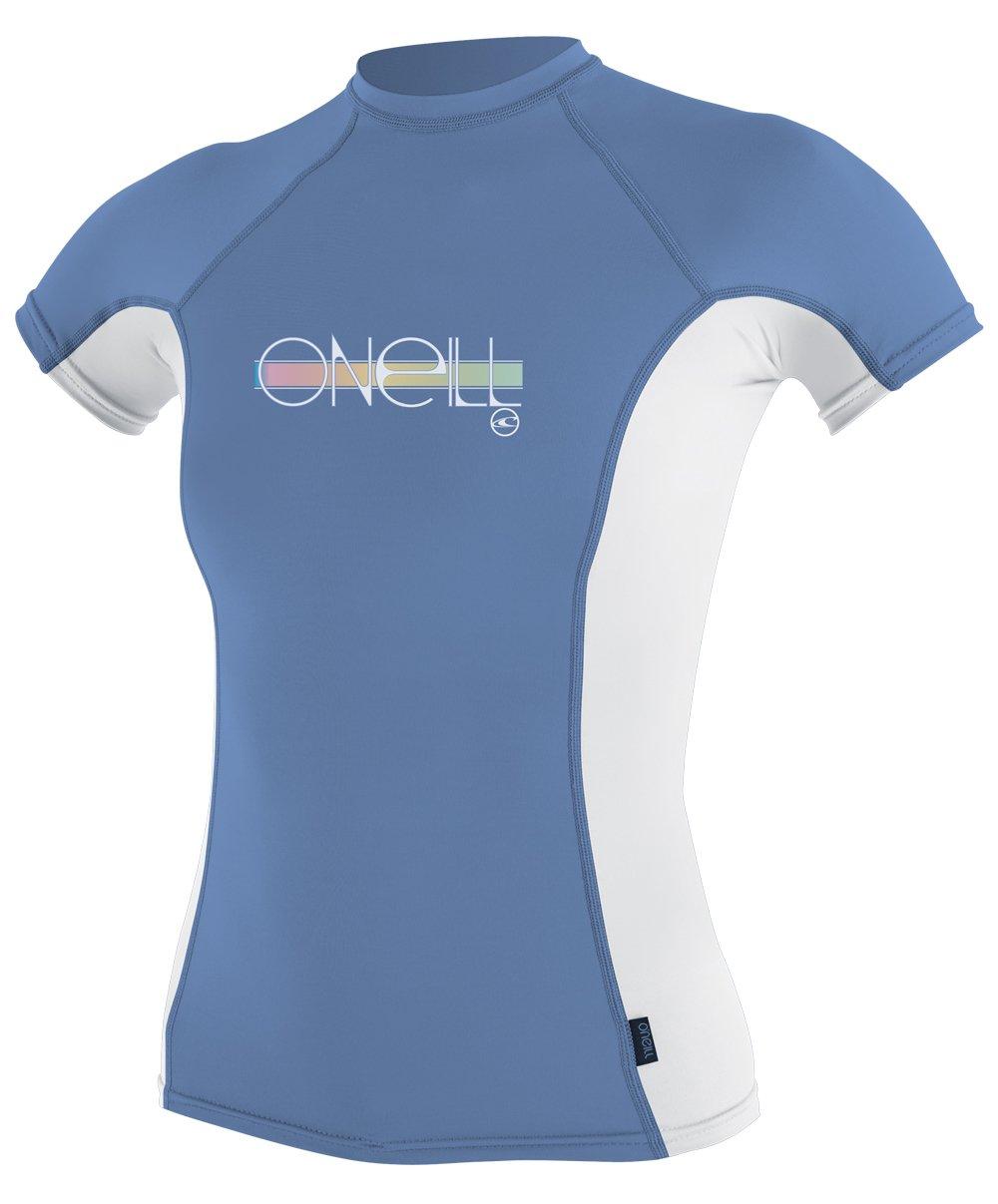 O'Neill UV Sun Protection Girls Skins Short Sleeve
