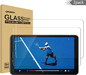 (2 Pack) Orzero Compatible for Lenovo Tab M7 (7 inch) Tempered Glass Screen Protector, 9 Hardness HD Anti-Scratch Full-Coverage (Lifetime Replacement)