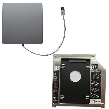 Generic USB SuperDrive almacenaje y segundo HDD Caddy 2 nd HDD SSD ...