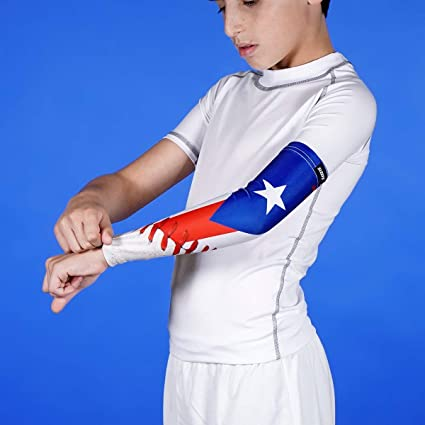 69e01a4fec Image Unavailable. Image not available for. Color: Baseball Puerto Rico MVP Arm  Sleeve