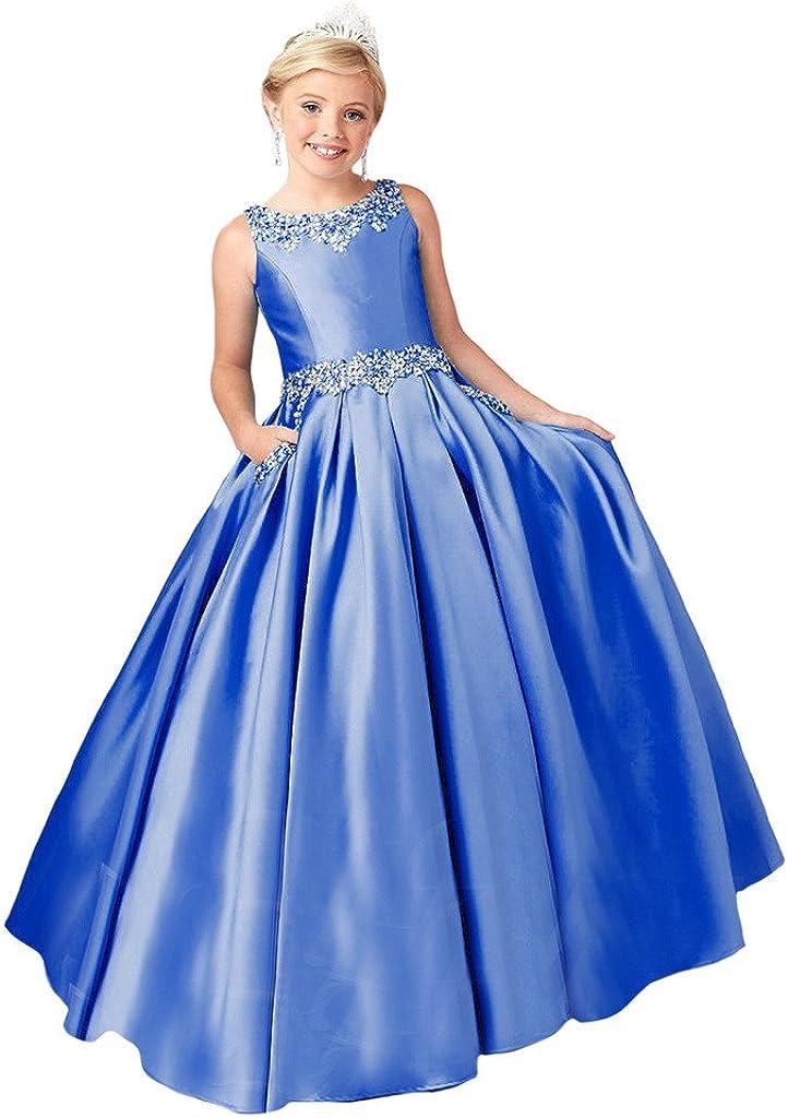 YongGao Phoenix Mall Girls' Birthday Party Dress A w Pageant Kansas City Mall Satin Line Gowns