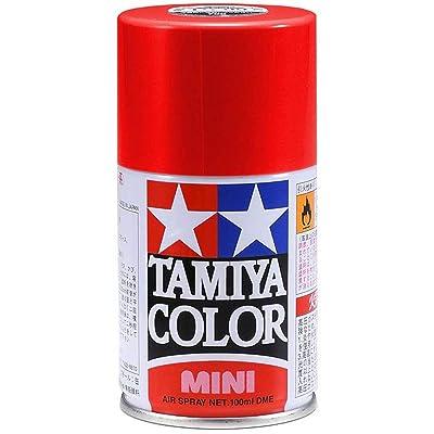 Tamiya America, Inc Spray Lacquer TS-18 Metallic R, TAM85018: Toys & Games
