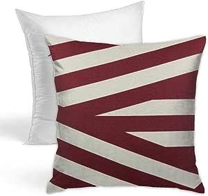 Amazon Com Hold Pillow Stylish Decorative Simple Geometric Pattern Sofa Home Car 18x18inches Geometric Pattern Background Illustration 5 Home Kitchen