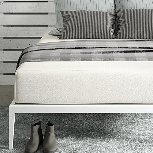 Signature Sleep Memoir 12 Inch Memory Foam Mattress with CertiPUR-US certified foam, Queen - Linen Set Daybed