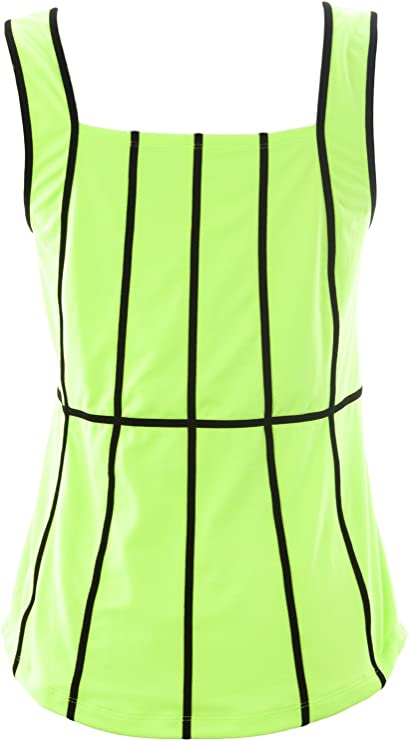 Jofit Womens Faux Layer Racer Sz Small Coral Glow