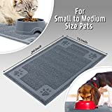 Cavalier Pets, Medium Dog Bowl Mat for Cat and