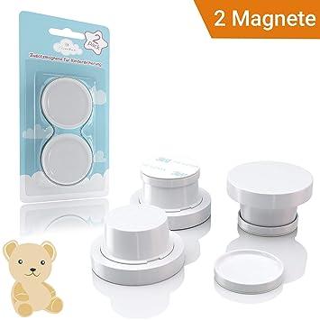 Avantina Magnetische Kindersicherung Schrank Und Schubladen 4 Stück I 8 Stück I 16 Stück Schranksicherung Unsichtbare Kindersicherung