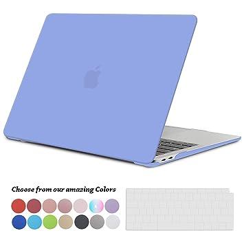 Tecool Funda para 2018 MacBook Air 13 Pulgadas A1932, Slim Cubierta de Plástico Duro Case Carcasa con Tapa del Teclado para Nuevo MacBook Air 13