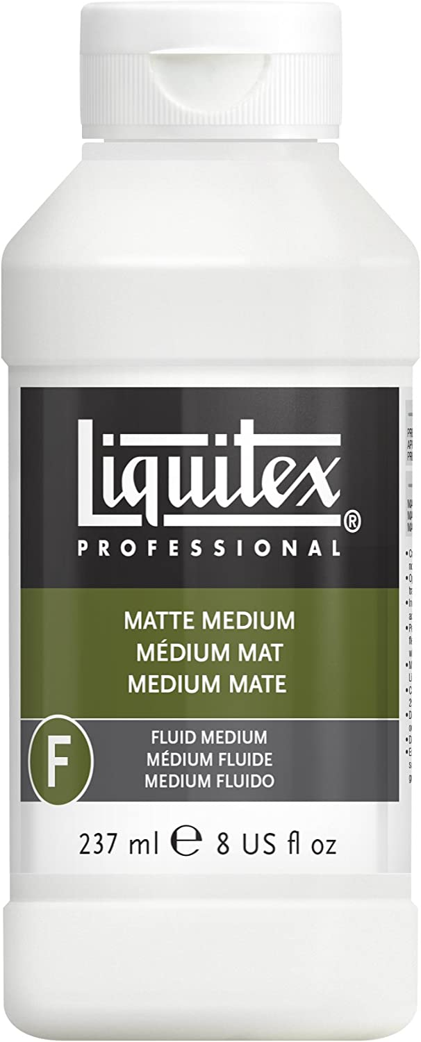Liquitex Professional Matte Fluid Medium, 8-Ounce