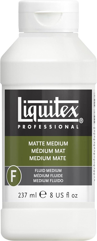 Liquitex Professional Matte Fluid Medium, 8-Ounce