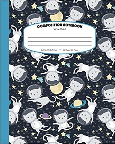 Amazoncom Composition Notebook Wide Ruled School Exercise