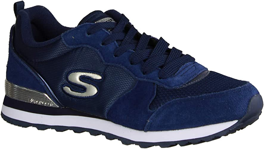 dirección Cúal Misericordioso  Skechers Women's Retros-og 85-goldn Gurl Trainers: Amazon.de: Schuhe &  Handtaschen