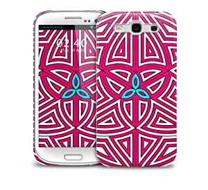 Pink and Blue Samsung Galaxy S3 GS3 protective phone case